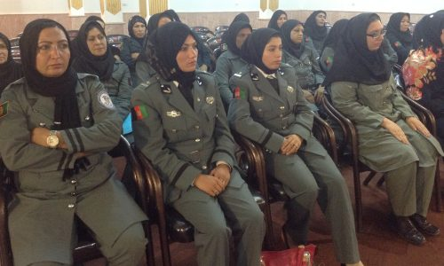 حضور پر رنگ زنان در صفوف پولیس