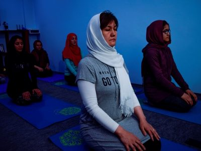 یوگا؛ ورزش نوپا در افغانستان