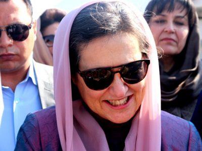 سفر رولا غنی به هرات