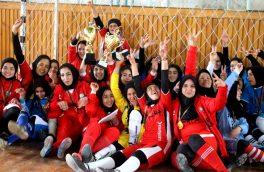 قهرمانی سرخ پوشان هرات در مسابقات فوتسال بانوان