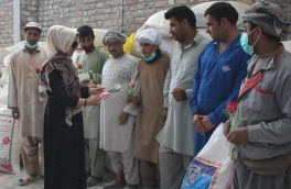 روز جهانی کارگر و تقدیر کارگران هرات