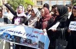 اشتراک در تجمعات اعتراضی حق زنان است