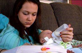 زنان و مشکلات بارداری در سنین پایین