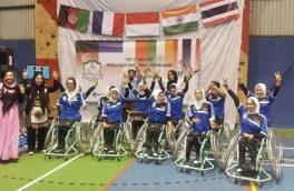 بانوان بسکتبالر ویلچر نشین برنده «رقابتهای بالی کمپ»