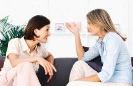 حرف زدن راهی برای آرامش زنان
