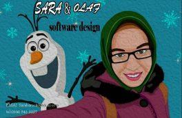 سارا، نخستین دختر هراتی که انیمیشن میسازد