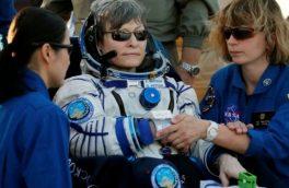 فضانورد زن رکورد اقامت آمریکاییها در فضا را شکست