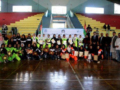 پیروزی تیم گوهرشاد در مسابقات صلح در ورزش