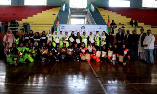 تیم بسکتبال دختران گوهرشاد، برنده مسابقات صلح در ورزش