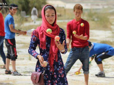 بانوان بامیانی، سرکسبازان بیبدیل در رقابتهای آسیایی