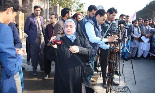 زنان خبرنگار از فعالیتهای شان میگویند