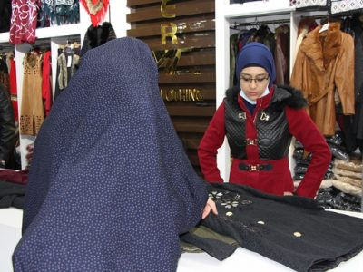 زنان فروشنده: فروشندهگی تنها شغل مردان نیست