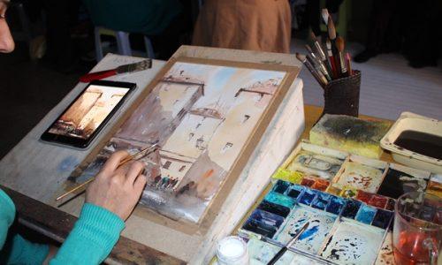 روایتی از مشکلات بانوان نقاش در هرات