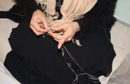 قلاب بافی؛ هنری برای استقلالیت مالی زنان