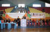 تقدیر از بانوان ورزشکار از سوی فدارسیون والیبال هرات