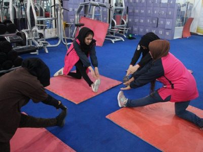 تصاویری از ورزش درمانی برای زنان