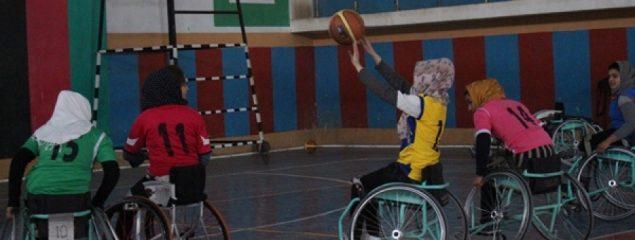 دختران بسکتبالر ولچرنشین برنده مسابقات خزانی