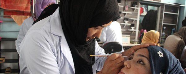 برگزاری صنوف آموزش آرایشگری برای بانوان