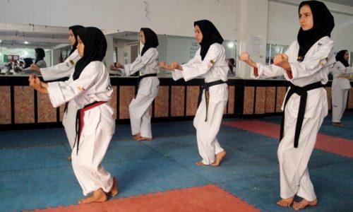 تکواندوی دختران در هرات!