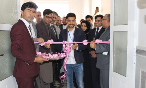افتتاح نمایشگاه کارهای عملی دانشجویان کامپیوترساینس