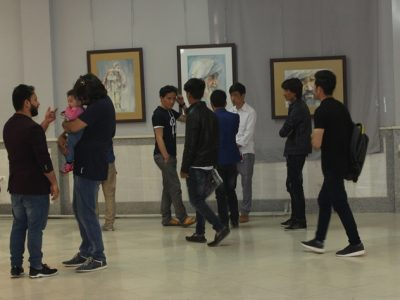 زمزمهها؛ نمایشگاهی از آثار هنری پروانه نبیزاده