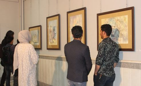 زمزمهها؛ نمایشگاهی از آثار هنری پروانه