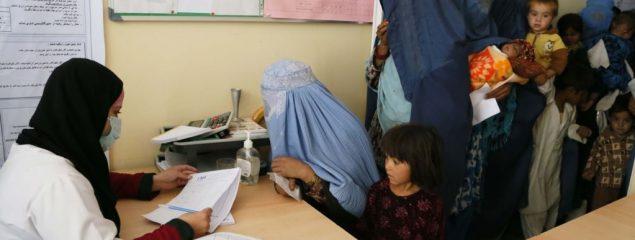 استقبال زنان از تمدید روند ثبتنام رایدهندگان