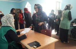 حمایت زنان هرات از روند انتخابات پارلمانی