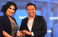 آریانا سعید جایزه 'آزادی' شورای آتلانتیک را دریافت کرد