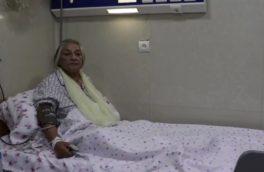 شیرینگل پرسوز هنرمند پُر آوازه افغان پس از عملیات پیوند گرده در هرات