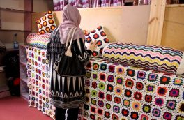 رونق تجارت زنان در مرکز خدماتی و اقتصادی زنان