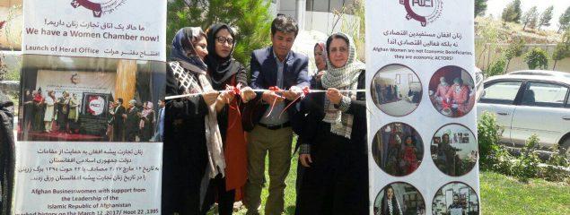 زنان بازرگان خواهان رونق تجارت در بازار هرات