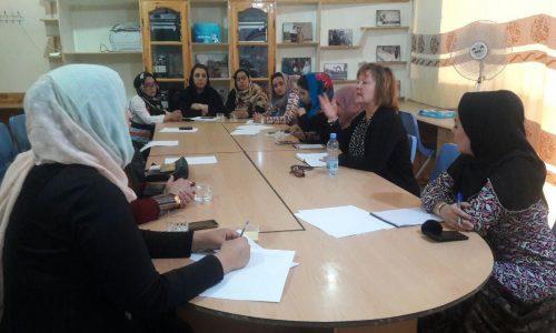 دیدار خانم سوزانا، مسوول کمیتۀ مصوونیت با زنان خبرنگار در هرات