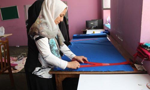 استقبال زنان از ایجاد کارگاههای خیاطی زنانه در هرات