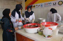 نقش زنان در تولید و پروسس مواد غذایی