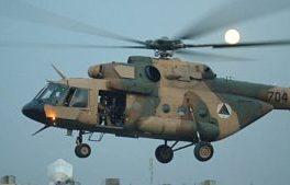 سقوط یک چرخبال ارتش در ولایت فراه