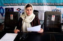 شفیقه فیضی: فعالیت دولت برای زنان بادغیس بسنده نیست
