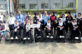 برد تیم ملی بانوان بسکتبالر ولچرنشین در مسابقات پارا آسیایی
