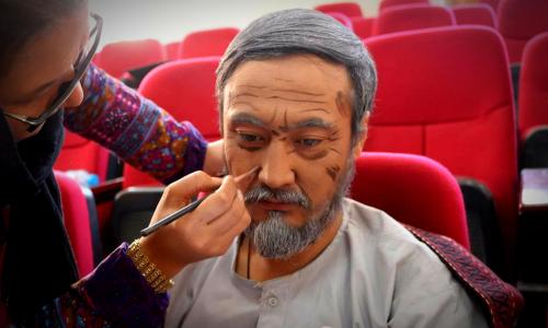 معصومه عادل؛ چهرۀ نا شناخته با دو دهه کار در چهرهپردازی