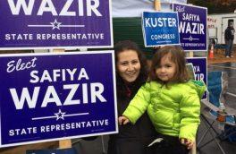 پناهنده زن افغان که در انتخابات آمریکا به پیروزی رسید