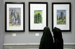 نمایشگاه دوسالانۀ آب رنگ درهرات؛ زنان هنر مند از بازار بیخریدارهنر گِله دارند