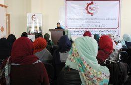 نشست بررسی چالشهای زنان بازرگان در هرات