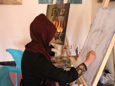 زهره: «نقاشی زندگی من است»