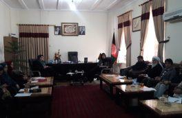برگزاری جلسهی کمیسیون منع خشونت در هرات