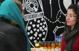 ملالی مبارز با ایجاد کافهیی در شبرغان، تابوشکنی کرد