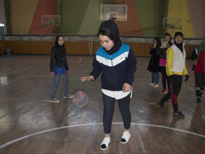 تصاویری از دختران هَندبالیست هرات