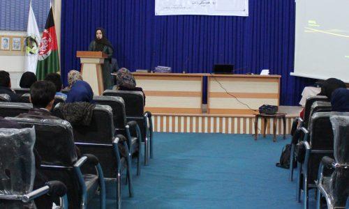 ایجاد کمیته منع آزار و اذیت زنان در ادارهی اطلاعات و فرهنگ هرات