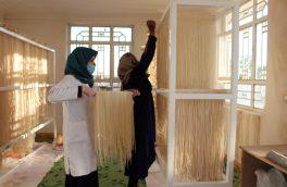 ایجاد مرکز تولیدی به همت ۲۰ زن هراتی