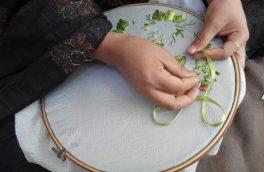 تصاویری از صنایع دستی زنان