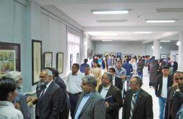 هفتمین نمایشگاه دوسالانه هنر مینیاتوری در هرات برگزار شد